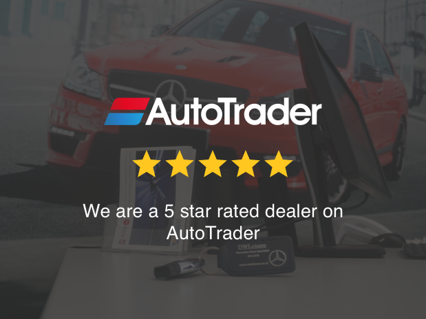 We are a 5 star rated dealer on AutoTrader
